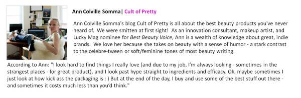 Ann Colville Somma | Cult of Pretty