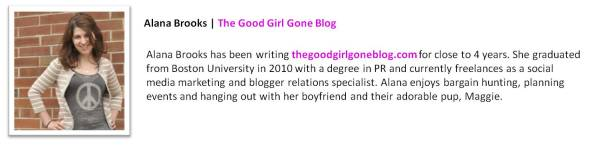 Anna Brooks | The Good Girl Gone Blog