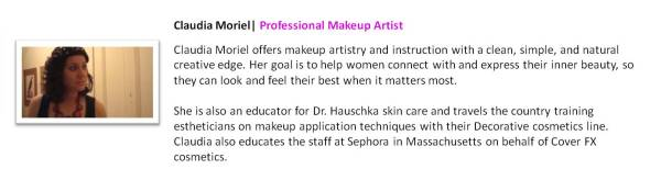 Claudia Moriel | Professional Makeup Artist