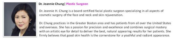 Dr. Jeannie Chung | Plastic Surgeon