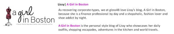 Lissy | A Girl in Boston