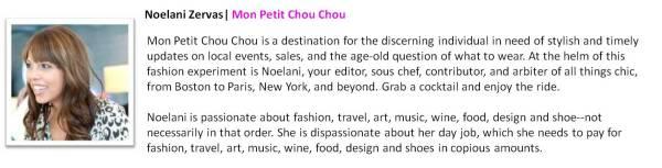 Noelani Zervas | Mon Petit Chou Chou
