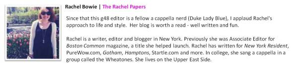 Rachel Bowie | The Rachel Papers