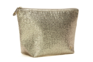 Stephanie Johnson Cosmetic Bag Gold