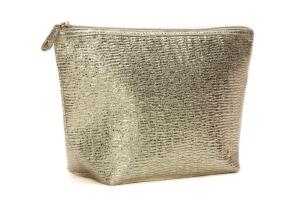 Stephanie Johnson Cosmetic Bag Gold