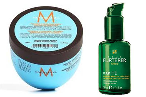 Moroccan Oil Hydrating Mask + Furterer Karite Oil
