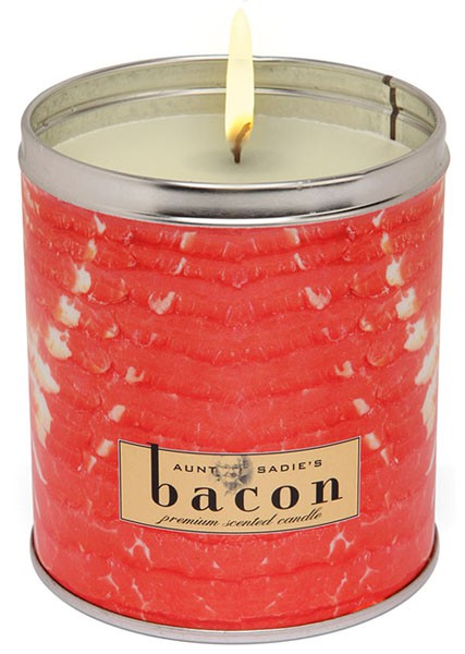 Aunt Sadie's Bacon Candle
