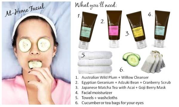 At-Home Facial | What You'll Need