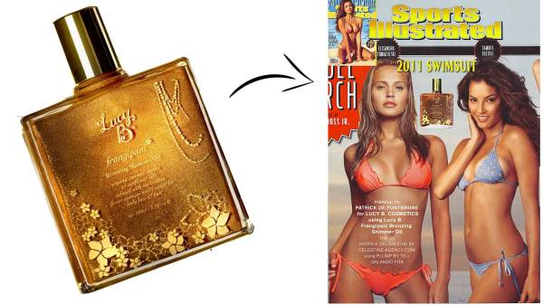 Sports Illustrated Lucy B Bronzing Shimmer Oil