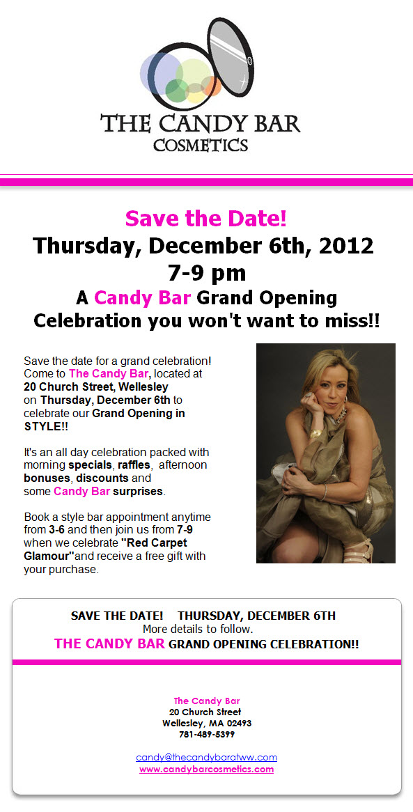 The Candy Bar Grand Opening