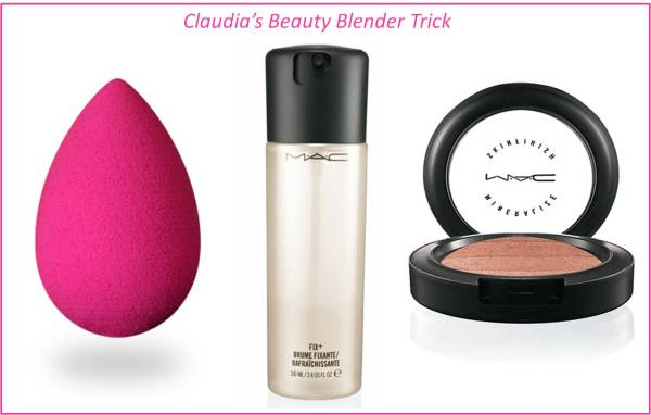 Claudia's Beauty Blender Trick