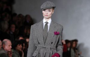 Ralph Lauren's Downton Abbey Collection, Fashion Week NY 2013Source: Carlo Allegri / Reuters