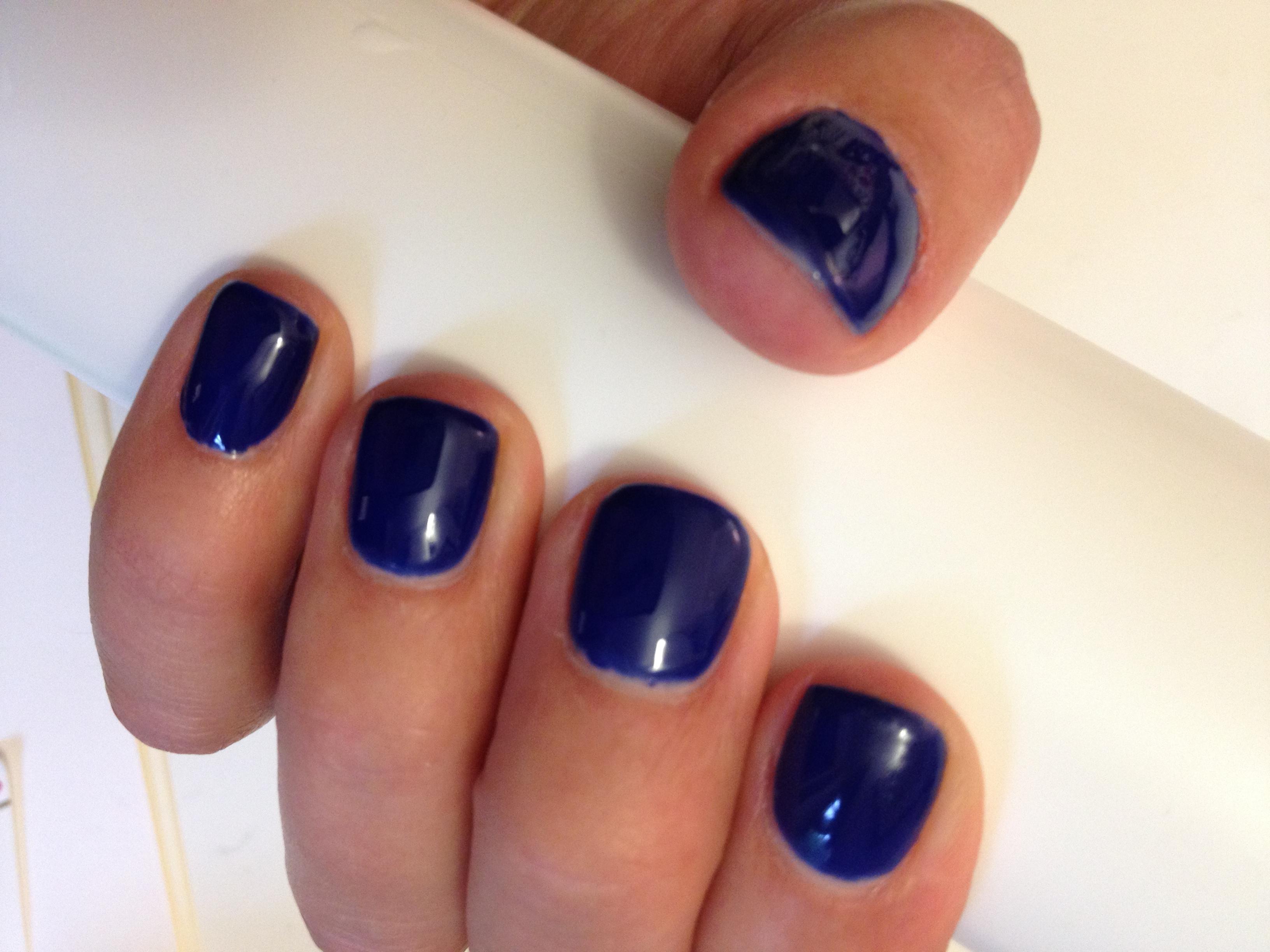 Nail Polish Blues Blue Gel Nail Polish Image