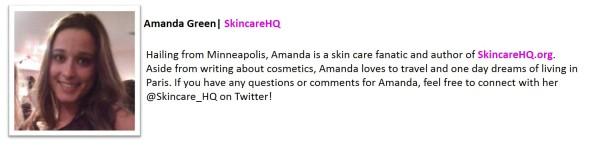 Amanda Green SkincareHQ Bio
