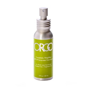 ORGO Completely Weightless Sunscreen Spray SPF29