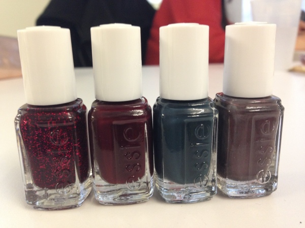 essie winter 2013 nail polish collection